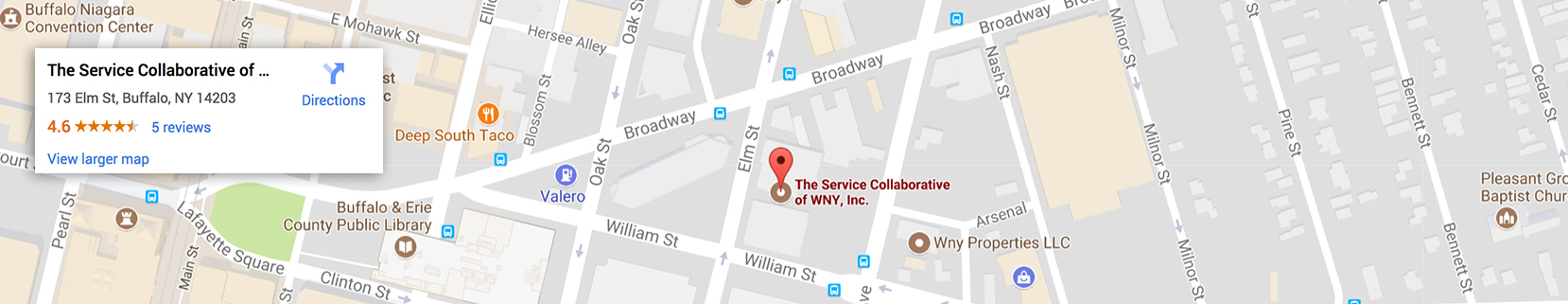 The Service Collaboartive Map